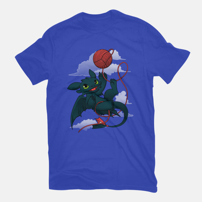 Dragons Just Wanna Have Fun-mens heavyweight tee-ursulalopez