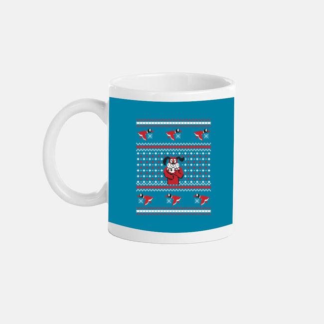 Duck For Christmas-none glossy mug-Retro Review
