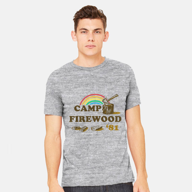 Camp Firewood-mens heavyweight tee-thePisforpenis