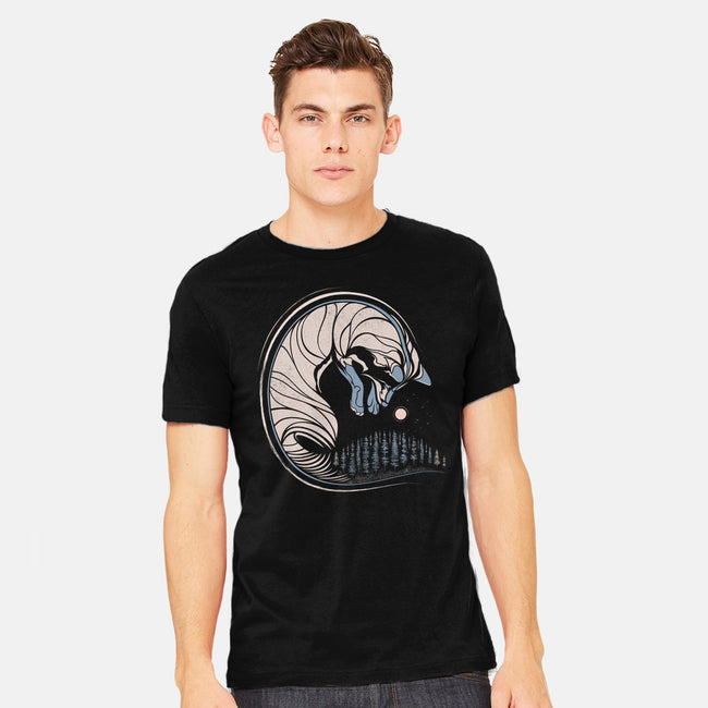 Chasing Its Tail-mens heavyweight tee-chechevica