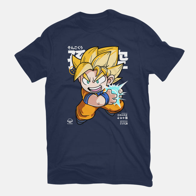 Chibi Kamehameha-mens heavyweight tee-mankeeboi