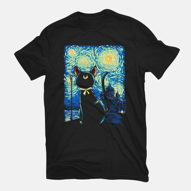 Clair de Lune-mens heavyweight tee-GillesBone