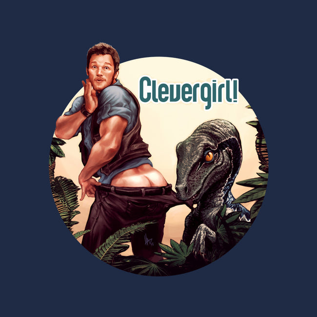 Clever Girl-none glossy sticker-hugohugo