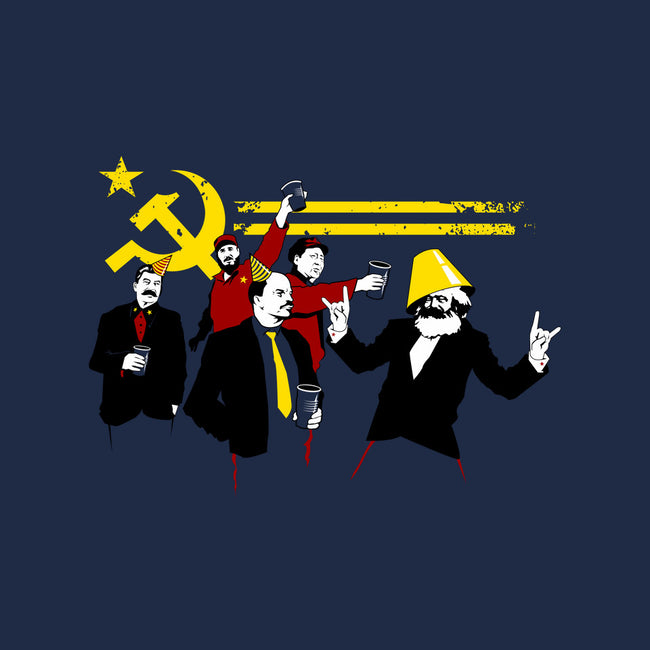 Communist Party-mens heavyweight tee-tom burns
