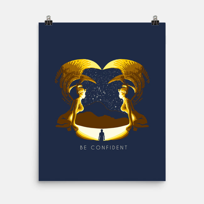 Confidence Is Key-none matte poster-jsrphoenix