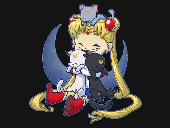 Crazy Moon Cat Lady