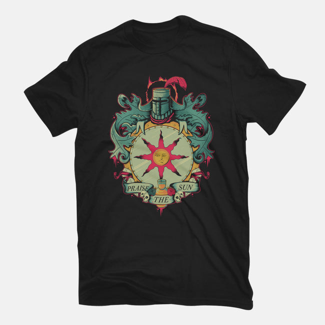 Crest of the Sun-mens heavyweight tee-Typhoonic