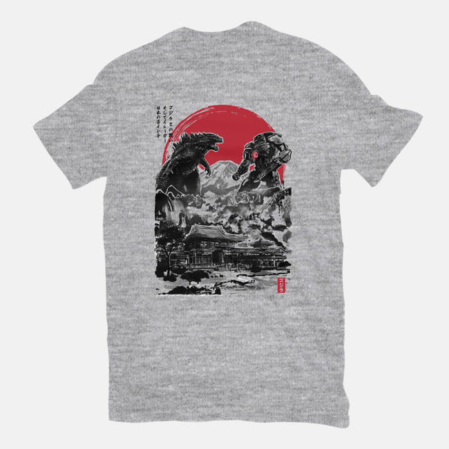 Battle of the Ages-mens heavyweight tee-DrMonekers