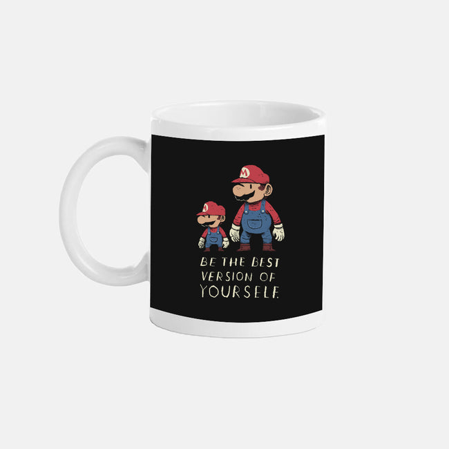 Be The Best Version of Yourself-none glossy mug-louisros