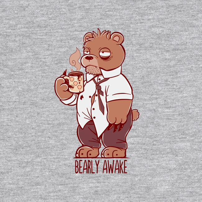 Bearly Awake-mens heavyweight tee-TechraNova