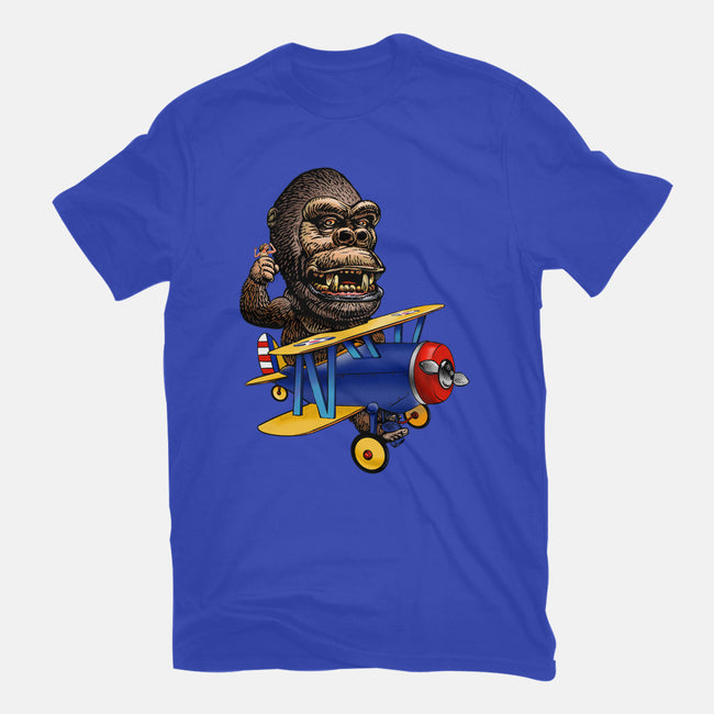 Beauty and the Beast-mens heavyweight tee-ChetArt