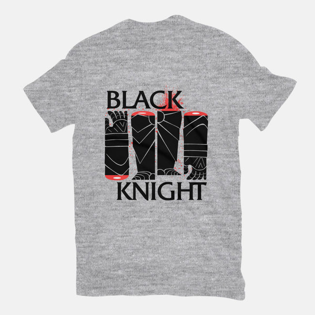 Black Knight-mens heavyweight tee-castlepop
