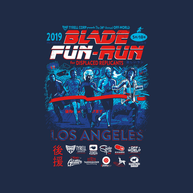 Blade Fun-Run-mens heavyweight tee-Captain Ribman