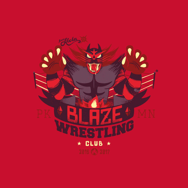 Blaze Wrestling Club-mens heavyweight tee-raffaus