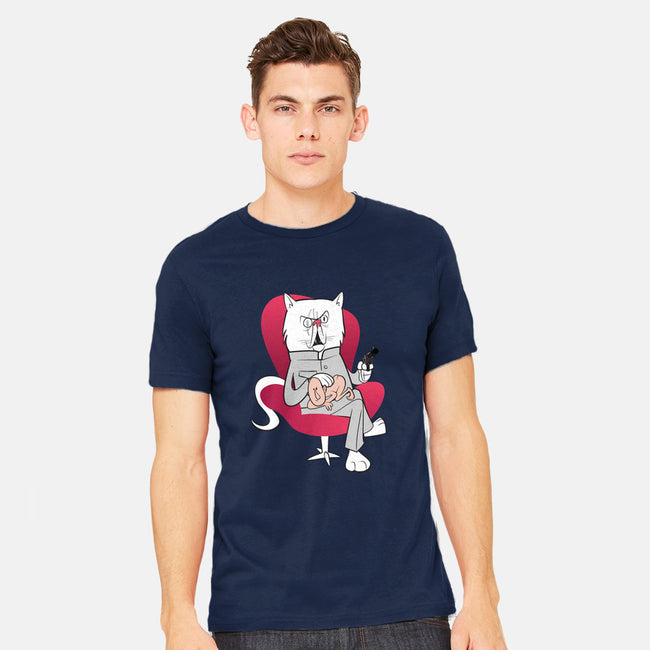 Blofeld's Cat-mens heavyweight tee-sonofeastwood