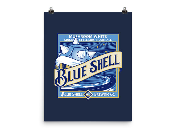 Blue Shell Beer