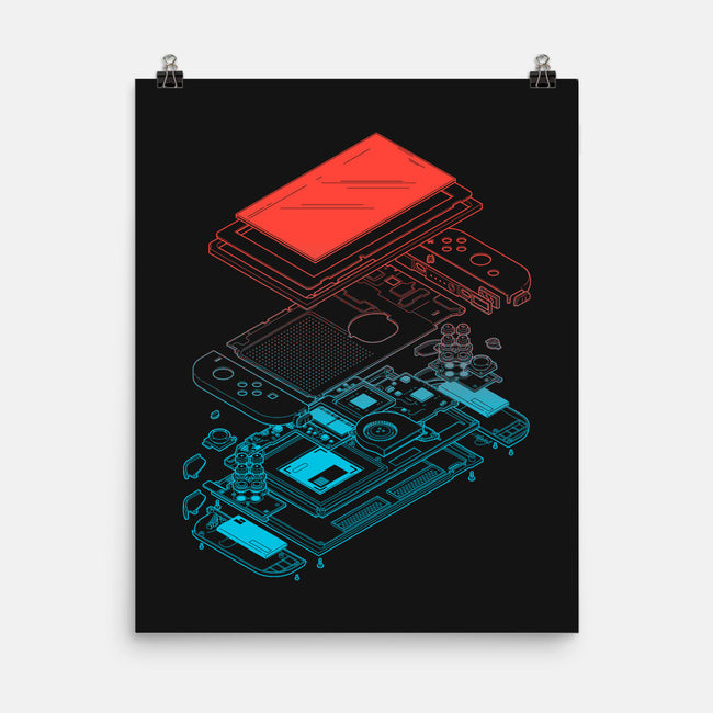 Blueprint NX-none matte poster-mannypdesign