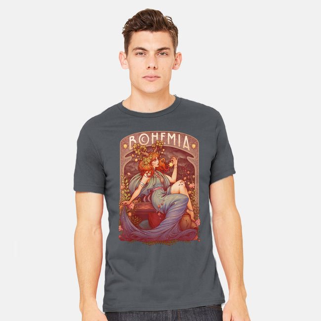 Bohemia-mens heavyweight tee-MedusaD