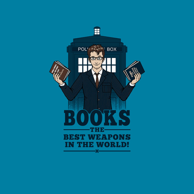 Books, The Best Weapons-mens heavyweight tee-pigboom