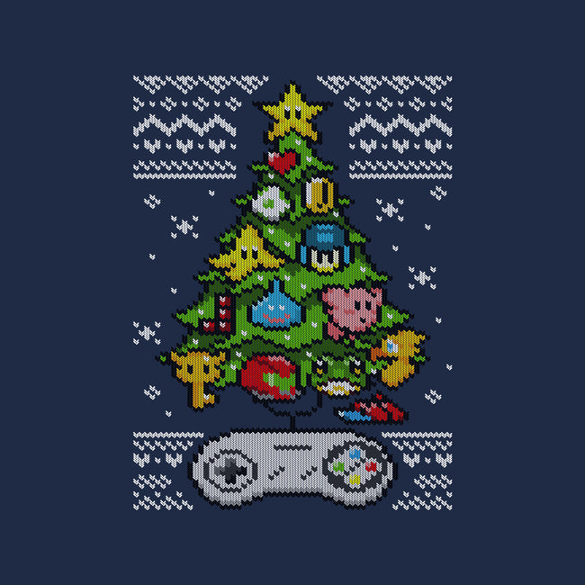 A Classic Gamer Christmas-mens heavyweight tee-GillesBone