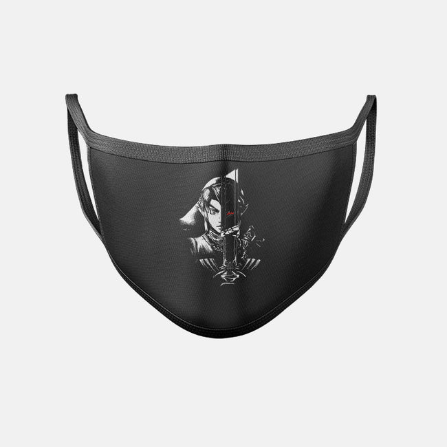 A Hero's Dark Reflection-unisex basic face mask-spicymonocle