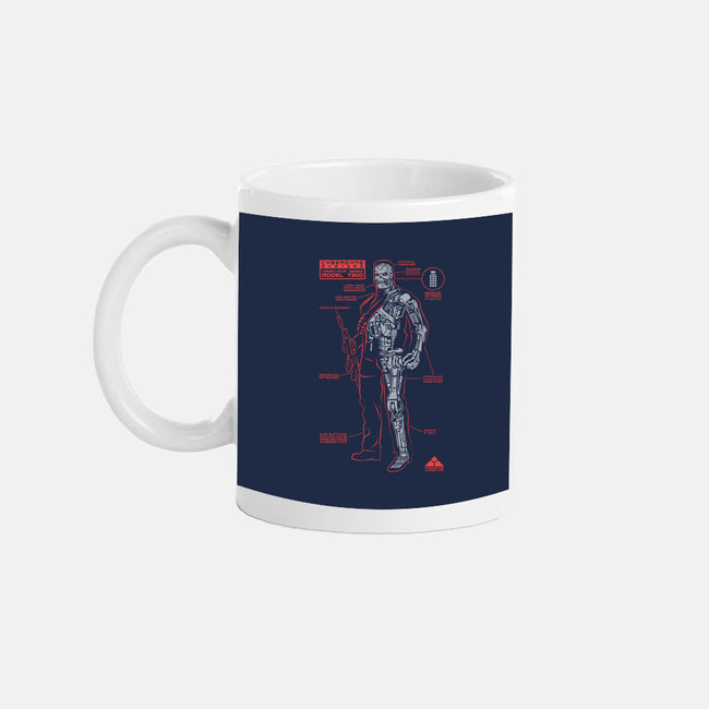 A Killer Machine-none glossy mug-RBucchioni