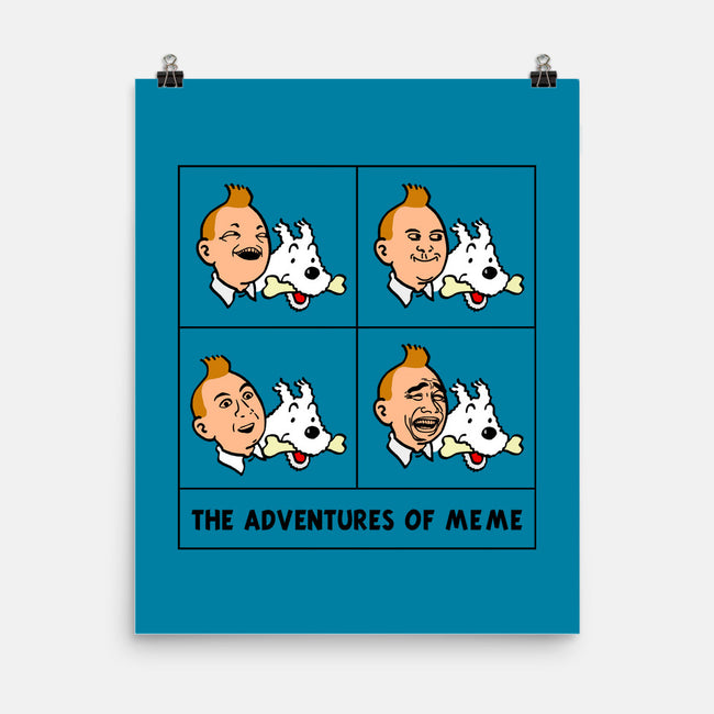 Adventures of Me Me-none matte poster-edgar_ascensao