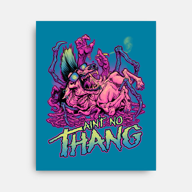 Ain't No Thang-none stretched canvas-BeastPop