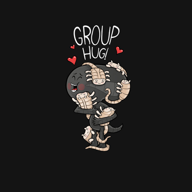 Alien Group Hug-unisex basic face mask-queenmob