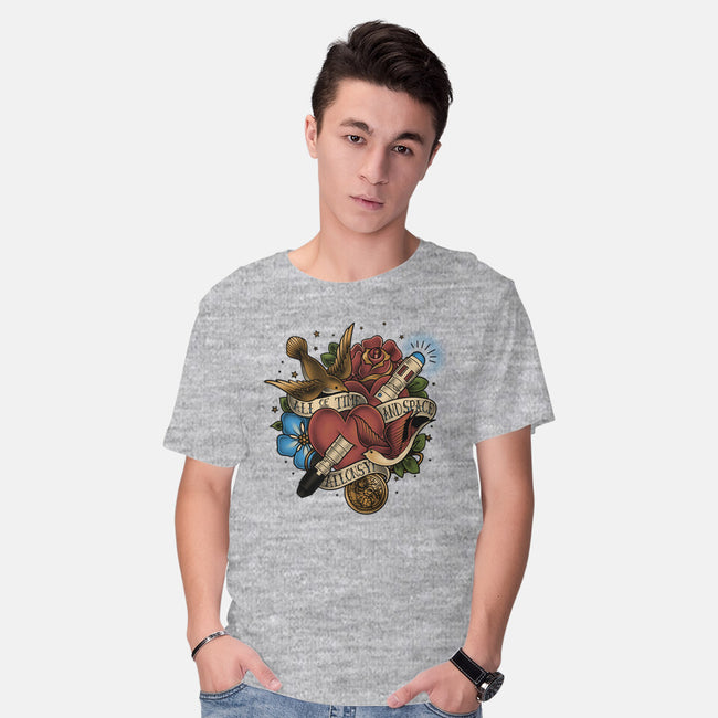 All of Time and Space Tattoo-mens basic tee-MeganLara