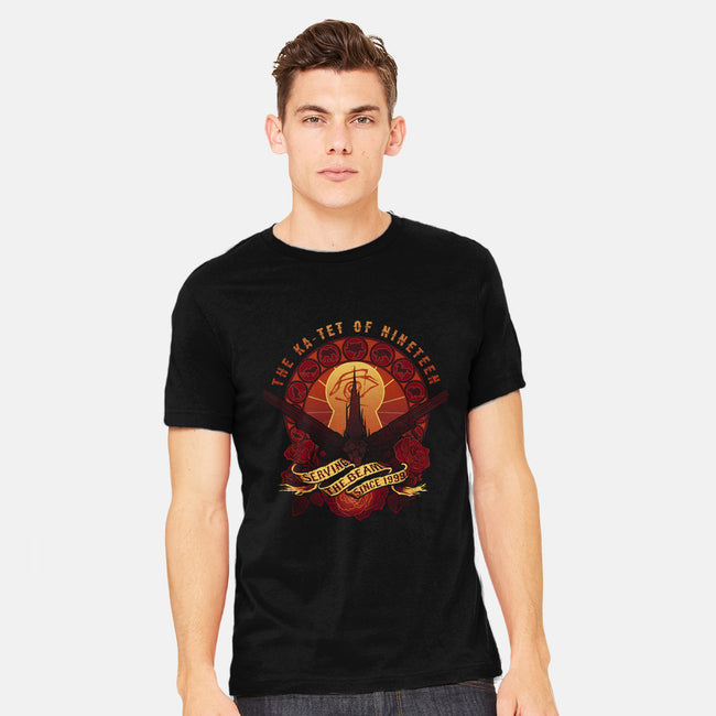 All Things Serve the Beam-mens heavyweight tee-MeganLara