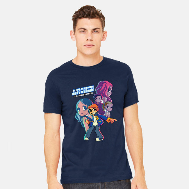 Archie VS Riverdale-mens heavyweight tee-mrvalentine