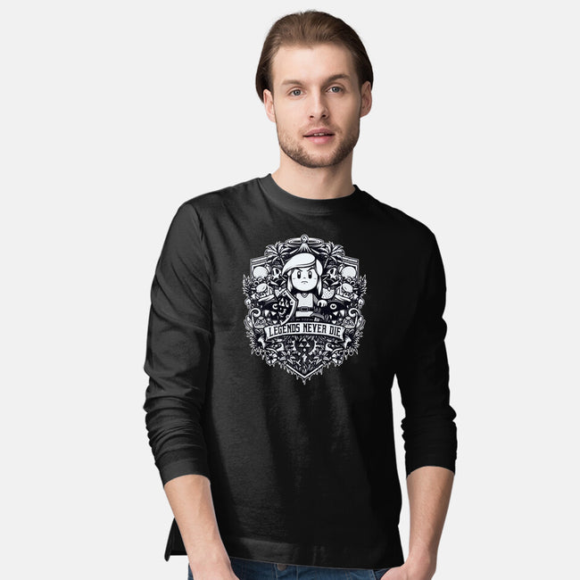Legends Never Die-mens long sleeved tee-StudioM6