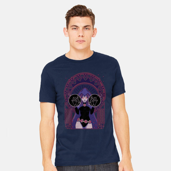 Dark Raven-mens heavyweight tee-xMorfina