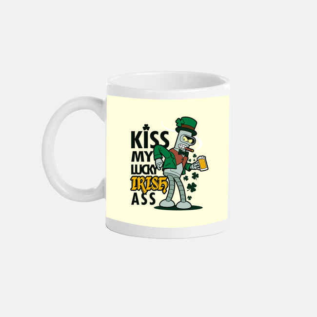Kiss My Lucky Irish Ass-none glossy mug-Boggs Nicolas