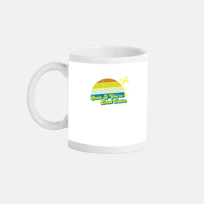 Smile if You're Dead Inside-none glossy mug-benyamine12