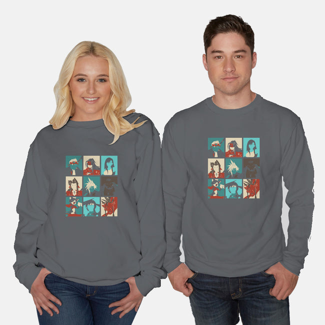 Final Pop-unisex crew neck sweatshirt-Donnie