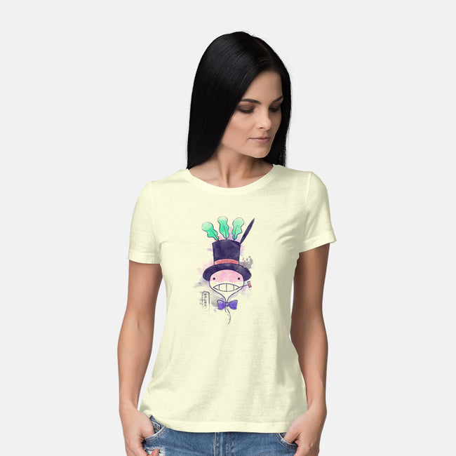 Turnip In Watercolor-womens basic tee-Donnie