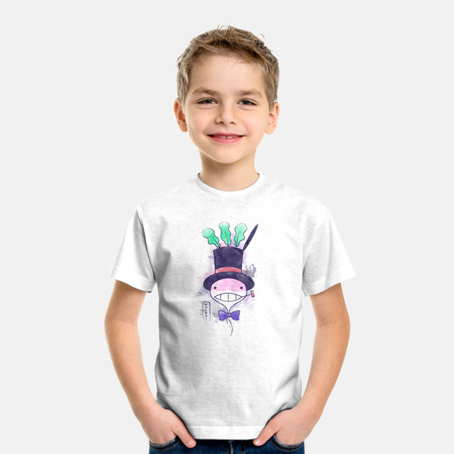 Turnip In Watercolor-youth basic tee-Donnie