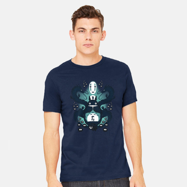 The Neighbor and The Spirit-mens heavyweight tee-thewizardlouis