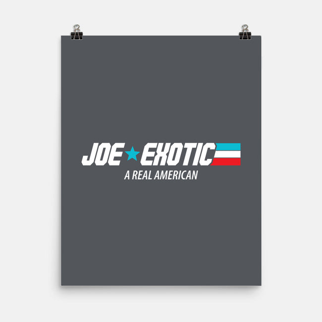 G.I. Joe Exotic-none matte poster-nobleteeshop
