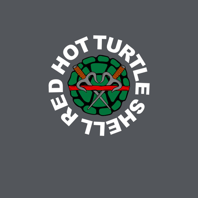 Red Hot Turtle Shell-mens heavyweight tee-Melonseta