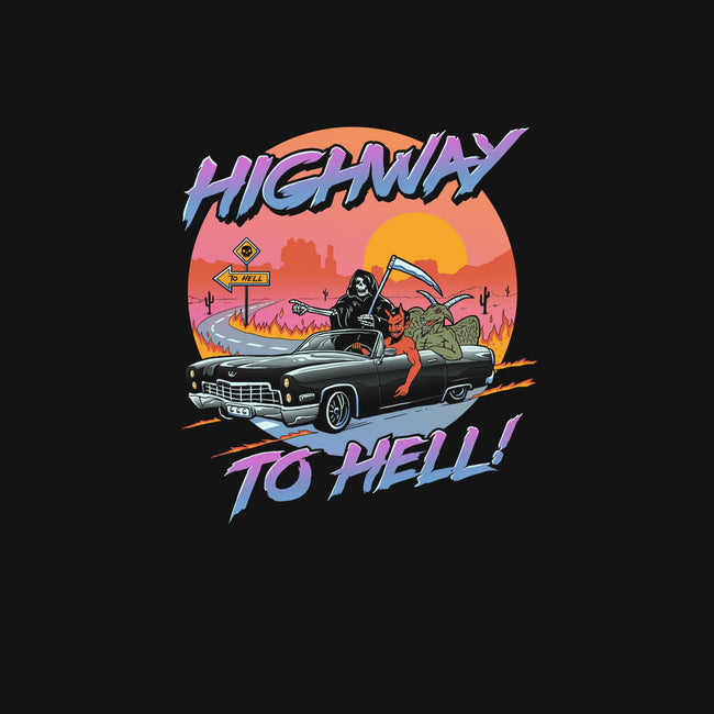 Highway to Hell-mens basic tee-vp021