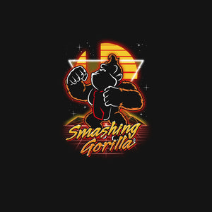 Retro Smashing Gorilla