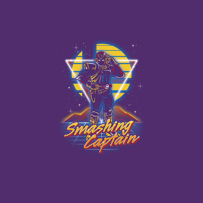 Retro Smashing Captain-mens basic tee-Olipop