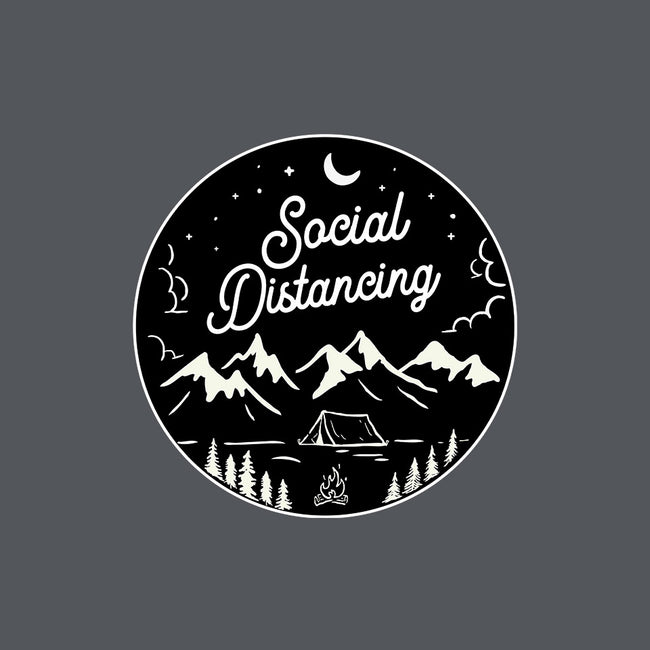 Social Distancing-womens fitted odad-tee-beerisok