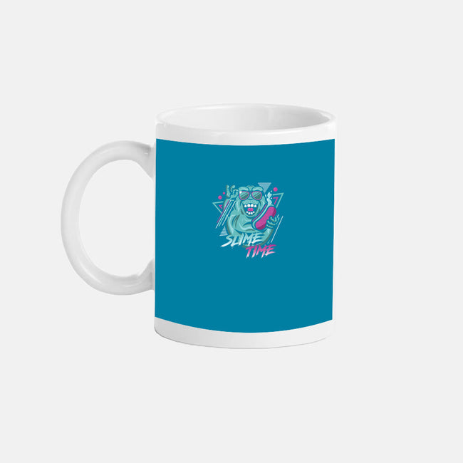Slime Time-none glossy mug-jrberger