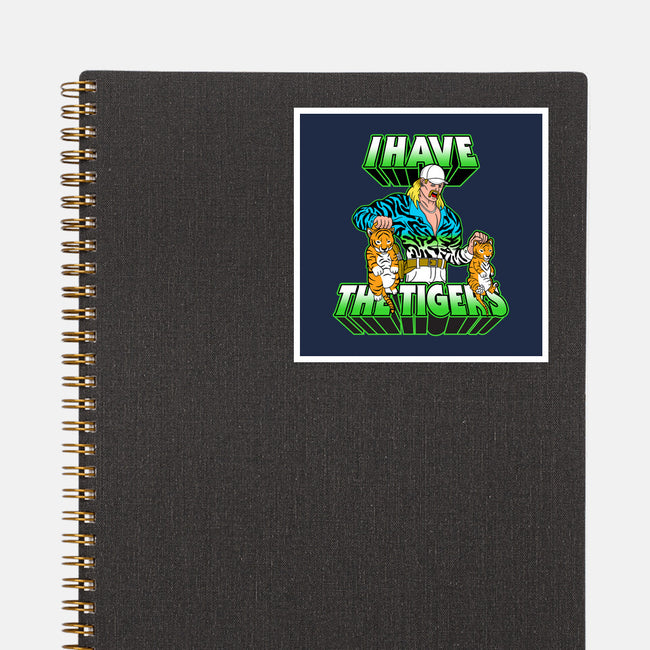 I Have the Tigers-none glossy sticker-krusemark