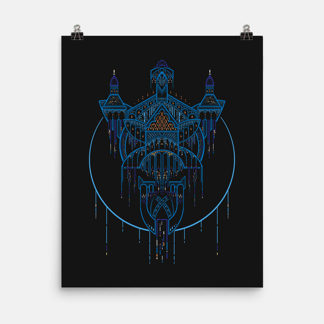 Evenstar House-none matte poster-icewreath