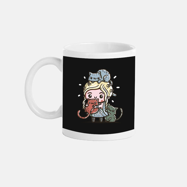 Mother of Cats-none glossy mug-Wenceslao A Romero